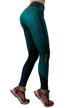 Drakon - Aqua Leggings Women s Athletic Leggings 3fe73671879