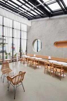 큐플레이스 :: 상가 인테리어 비교견적 서비스 Coffee Shop Interior Design, Coffee Shop Design, Cafe Design, Bathroom Interior Design, Japanese Coffee Shop, Japanese Restaurant Design, Korean Cafe, Interior Design Presentation, Restaurant Concept
