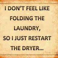 ...so I just re-start the dryer!!!