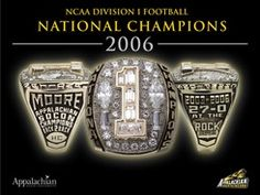 Coach Jerry Moore's 2006 Championship Ring