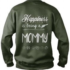 Awesome Tee Happiness to being a Mommy T-Shirts