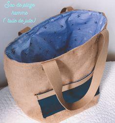Couture, sac de plage
