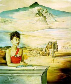 Portrait of Katharina Cornell, 1951  Salvador Dali