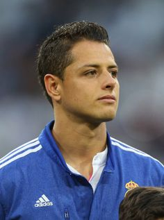 Javier Hernandez, his hair though. I should never deleted my soccer board.