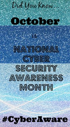 We just finished an excellent  course on Cyber Security in honor of National Cyber Security Awareness Month.  You should too!  #CyberAware https://www.sba.gov/tools/sba-learning-center/training/cybersecurity-small-businesses