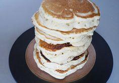 Amazing almond pancakes