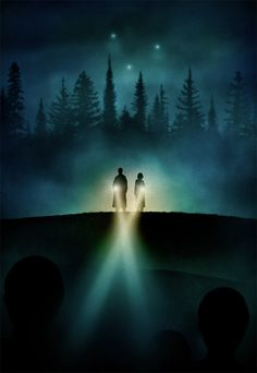 Conspiracies, Monsters and Mythology : An X-Files Art Show at iam8bit Gallery with the Poster Posse