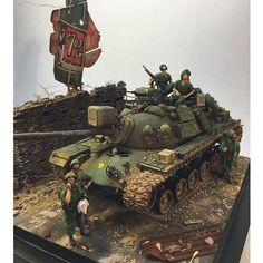 Great Dio! From: pinterest Unknown modeler  #scalemodel #plastimodelismo #plastickits #usinadoskits #udk #miniatura #miniature #maqueta #maquette #war #guerra #guerre #bataille #modelismo #modelism #modelisme #plasticmodel #plamodel #plastimodelo #soldiers #soldados