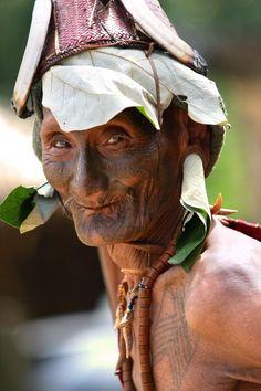 Naga Headhunter Photo by David Levin — National Geographic Your Shot