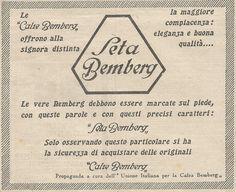 W1220 Calze di seta BEMBERG - Pubblicità 1929 - Vintage Advertising