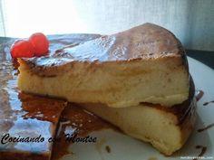 Tarta de queso al microondas - MundoRecetas.com