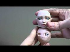 Sculpting a BJD Face with Inset Eyes - MakingFairies.com - YouTube