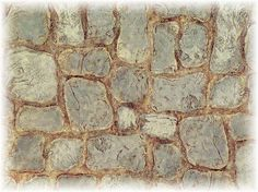 use a stylus to create faux stones in mat  board
