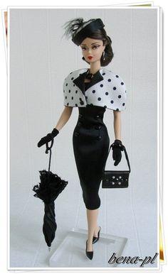 Bena PL Clothes for Silkstone Vintage Barbie OOAK Outfit | eBay