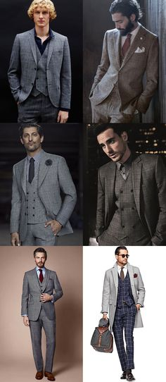 How To Wear Men's 2014 Autumn/Winter Checked Tailoring Trend: The Check Three-Piece Lookbook Inspiration