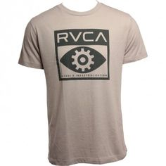 RVCA Mens Shirt Gogeye Cool Gray www.hansensurf.com