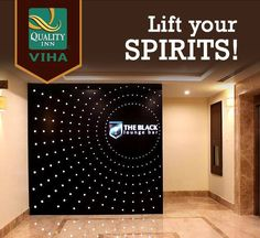 Delightful drinks and scrumptious snacks defines The Black Lounge Bar at Quality Inn Viha. Pay a visit to experience it for yourself! For more info Call +91435 2555555 or visit http://www.qualityinnviha.com/ — at Quality Inn VIHA.