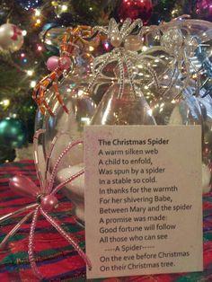 Christmas spiders christmas legends beaded christmas spider christmas