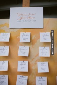 So cool - escort cards | CHECK OUT MORE IDEAS AT WEDDINGPINS.NET | #weddings #escortcards #weddingescortcards #coolideas #events #forweddings #ilovecards #romance #beauty #planners #cards #weddingdecorations