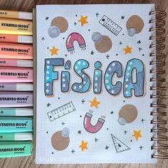 Bullet Journal Cover Ideas, Bullet Journal Banner, Bullet Journal Notes, Bullet Journal Writing, Bullet Journal School, Cute Notes, Pretty Notes, Lettering Tutorial, Hand Lettering