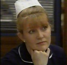#Nurse, #Casualty, #LisaDuffin, #DuffyDuffin, #Duffy, #CathyShipton, #CatherineShipton, #Sister, #A&E, #Oldstyle, #Caption, #tv,