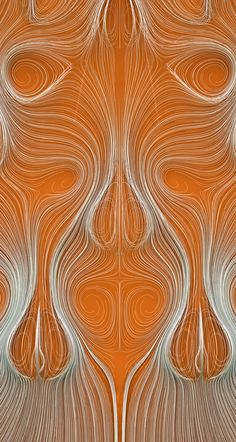 trailing points from sample positions inside a volumetric vector field.