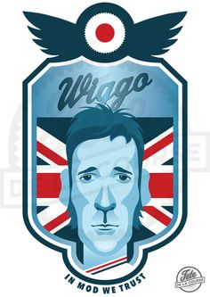 Watching history being made, the first British winner of the Tour de France. Congratulations to Bradley Wiggins, the undisputed King of the Road! Bradley Wiggins, Cycle Chic, Sport Icon, Bicycle Art, Cycling Art, History Books, Rude Boy, Courses, Cover Design