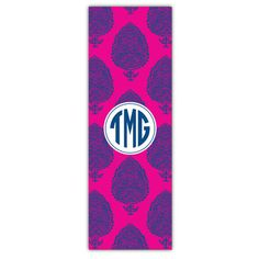 Pink Delhi Personalized Yoga Mat