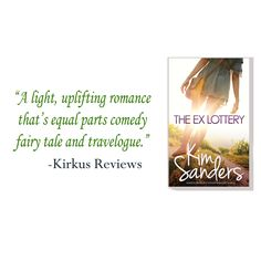 """""""Contemporary romance about a young woman who wins the lottery and travels to Ireland to buy a castle."""" --Kirkus Reviews  https://www.kirkusreviews.com/book-reviews/kim-sanders/the-ex-lottery/"""