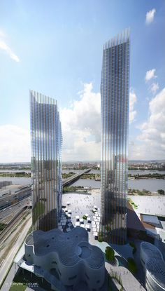 Vienna DC Towers - dominiqueperrault's portfolio on archcase