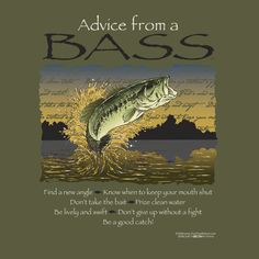 Spirit animal totem advice from a bass.