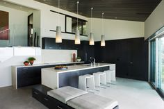 contemporary kitchen by Horst Architects and Aria Design Inc