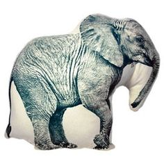 I <3 Elephants!  Might need to own this pillow!