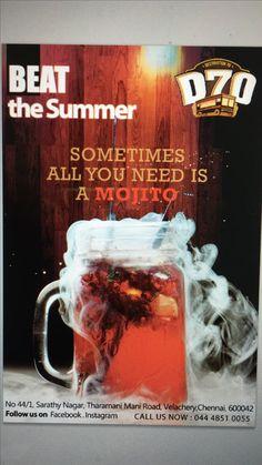 Poster design for d70 and digital marketing