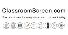 ClassroomScreen - has a timer, traffic light, work symbols, and more to display in your classroom