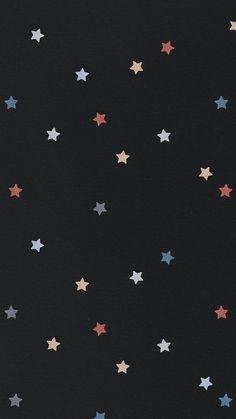 Download free illustration of Shimmering colorful star patterned