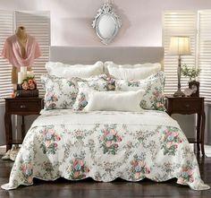 Rosedale Bedspread Set Range Multi - Shop