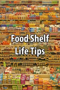 food shelf life chart pdf