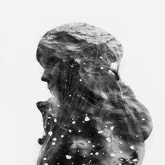 Elin by Christoffer Relander  Love double exposure portraits