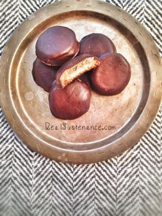 EASY and delish Grain Free Tagalong Cookies!     (Gluten/Starch/Dairy/Egg/Soy Free with directions to make Sugar Free).