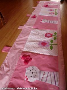 KAPSÁŘ S KOČIČKAMI PŘÍJEM OBJEDNÁVEK i na VÁNOCE Bed Room, Kids Rooms, Sewing Projects, Applique, Decorations, Quilts, Blanket, Baby, Scrappy Quilts