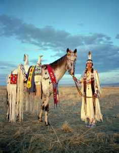Over a two year period I travelled to many locations in the western United States to learn about the significance of the horse in Native American culture.