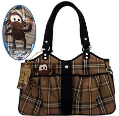 Bone Ami Airline Pet Carrier Plaid Monkey -- Click image for more details.(This is an Amazon affiliate link and I receive a commission for the sales)