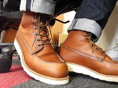 My red wing shoes moc toe is a very good boot