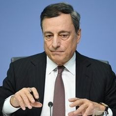 Mario Draghi - President of the European Central Bank at ECBpress conference