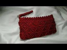 DIY Macrame Colourful bag tutorial in hindi /Macrame purse part-1 - YouTube