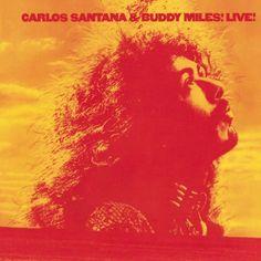 Carlos Santana & Buddy Miles - Live!  Columbia KC 31308 - Enregistré le 1er janvier 1972 - Sortie le 7 juin 1972  Note: 8/10