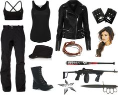 """""""The zombie apocalypse - We'll bring you the morning..."""" by vika-belikov ❤ liked on Polyvore"""