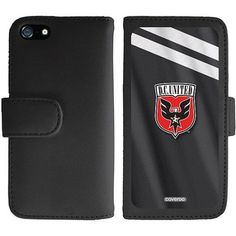 D.C. United Jersey Design on Apple iPhone 5SE/5s/5 Wallet Folio Case by Coveroo