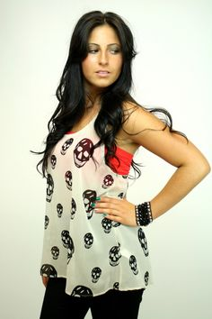 $49 Secret Skull Tank | Vintage Havana - Vamped Boutique